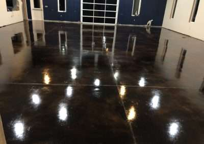 Stained Concrete Finish