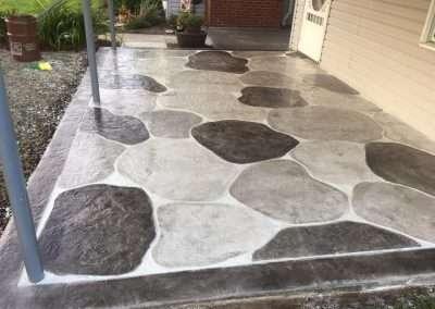 Custom Concrete Overlays