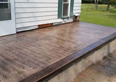 Stamped Concrete - Wood/Rustic Plank 4