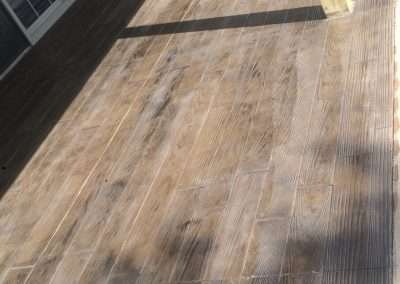 Stamped Concrete - Wood/Rustic Plank 1
