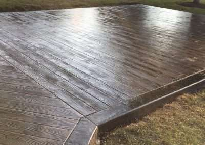 Stamped Concrete - Wood/Rustic Plank 2