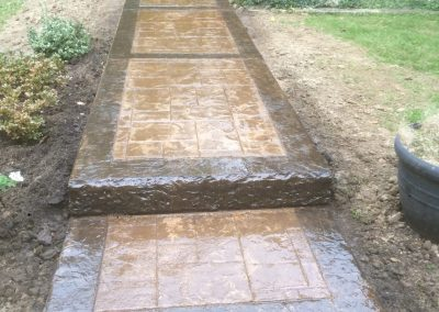 Stamped Concrete - Ashlar/Square Stone 1