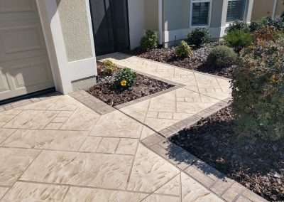 Concrete Custom Driveway