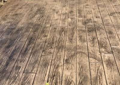 Stamped Concrete - Wood/Rustic Plank 6