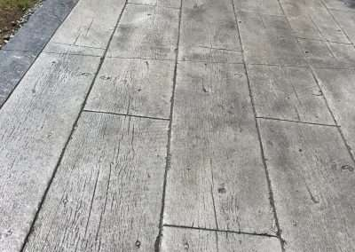Stamped Concrete - Wood/Rustic Plank 7