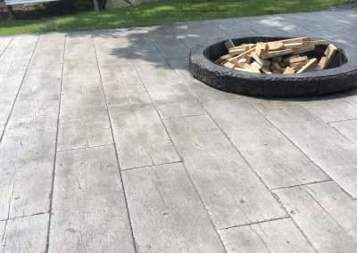 Stamped Concrete - Wood/Rustic Plank 9
