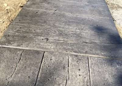 Stamped Concrete - Wood/Rustic Plank 11