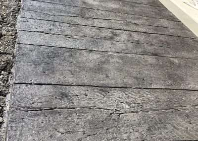 Stamped Concrete - Wood/Rustic Plank 12