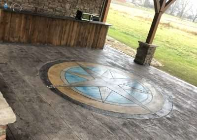 Stamped Concrete - Custom Designed Patterns 3