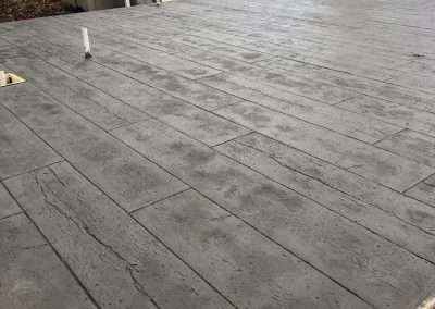Stamped Concrete - Wood/Rustic Plank 5